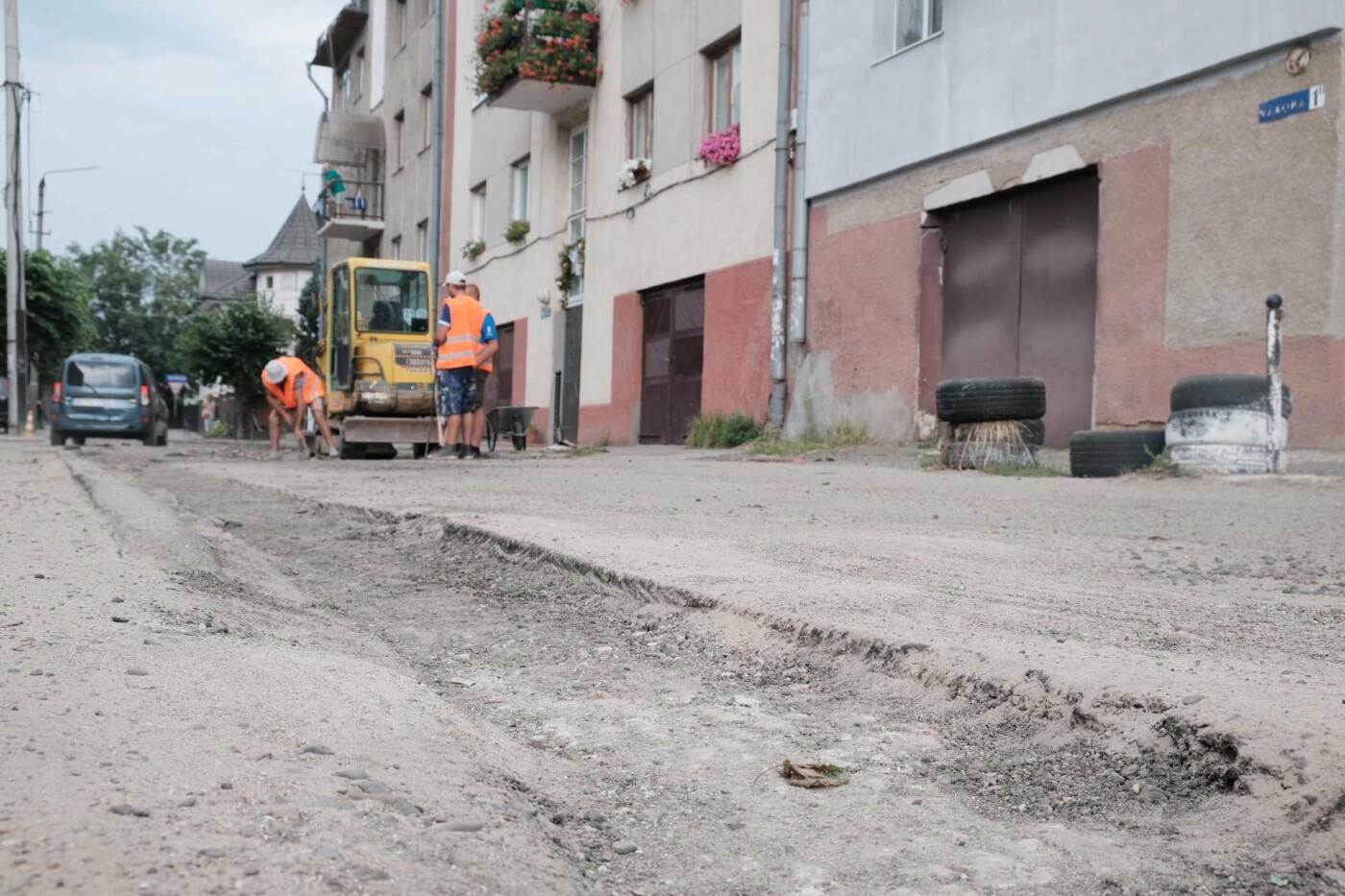Ремонт вулиці Чехова у Чернівцях