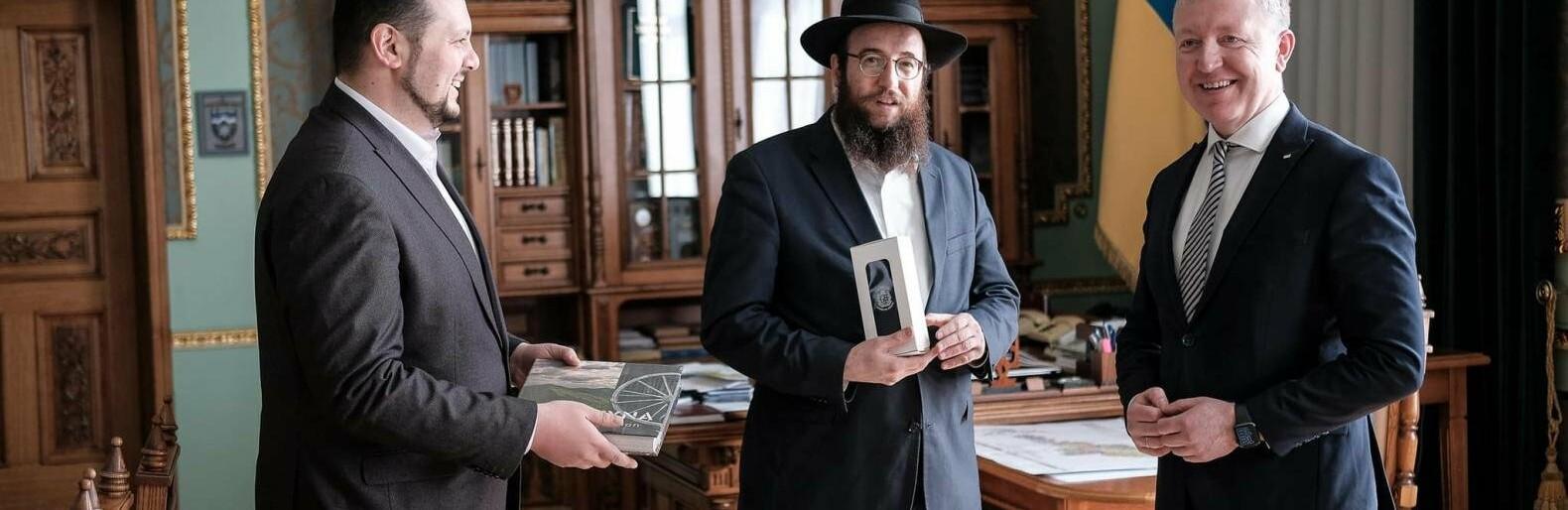 Сергій Осачук привітав єврейську громаду Буковини із Песахом